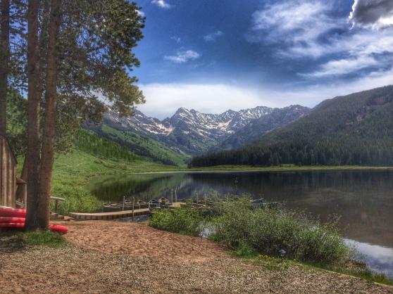 Piney River Lake near Vail
